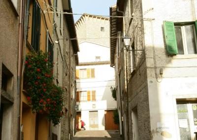 Scheggia e Pascelupo - Via Vital d'Angelo