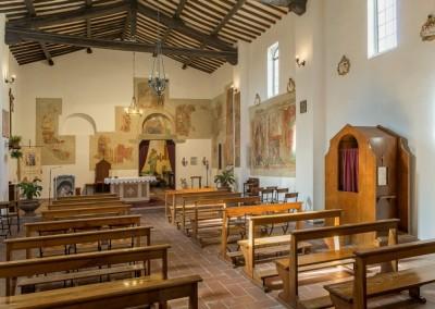 Valfabbrica - casacastalda santuario madonna dell olmo interno
