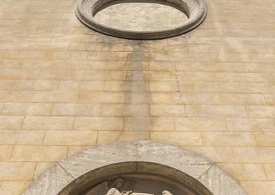 Valfabbrica - chiesa san sebastiano dettaglio