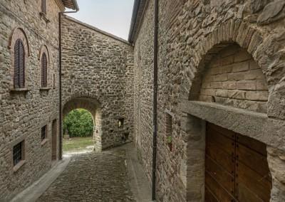 Valfabbrica - giomici scorcio castello