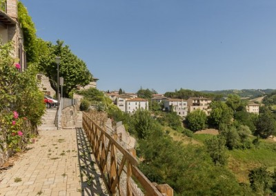 Valfabbrica - vista dalle mura